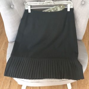 EUC black office skirt.